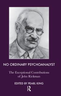 Cover No Ordinary Psychoanalyst