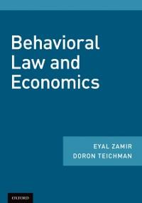 Cover Behavioral Law and Economics