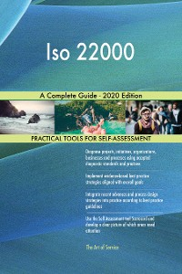 Cover Iso 22000 A Complete Guide - 2020 Edition