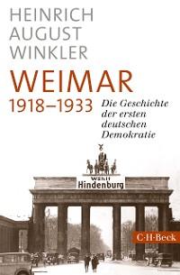 Cover Weimar 1918-1933