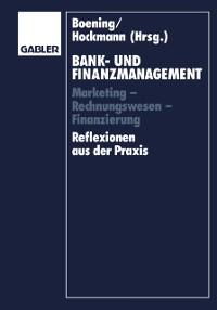 Cover Bank- und Finanzmanagement