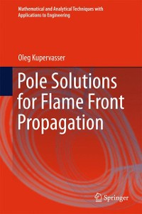 Cover Pole Solutions for Flame Front Propagation