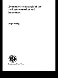 Cover Econometric Analysis of the Real Estate Market and Investment