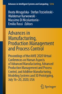 Cover Advances in Manufacturing, Production Management and Process Control