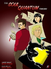 Cover The soul quantum theory - colored comic and short novel