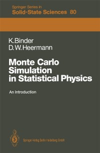 Cover Monte Carlo Simulation in Statistical Physics