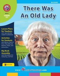 Cover Big Book: There Was An Old Lady Gr. K-3