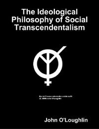 Cover Ideological Philosophy of Social Transcendentalism