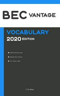 Cover BEC Vantage Vocabulary 2020 Edition