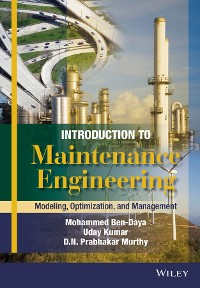Cover Introduction to Maintenance Engineering