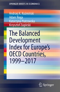 Cover The Balanced Development Index for Europe's OECD Countries, 1999–2017