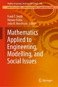 Cover Mathematics Applied to Engineering, Modelling, and Social Issues