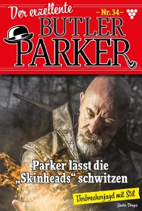 Cover Der exzellente Butler Parker 34 – Kriminalroman