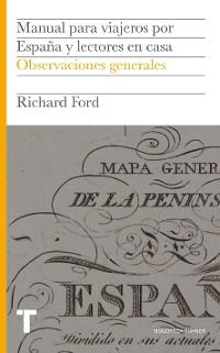 Cover Manual para viajeros por España y lectores en casa I