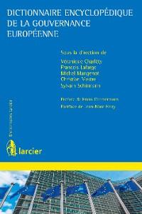 Cover Dictionnaire encyclopédique de la gouvernance européenne