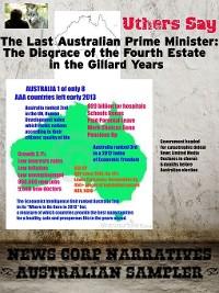 Cover The Last Australian Prime Minister