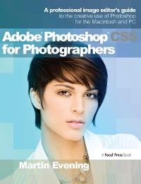 Cover Adobe Photoshop CS5 for Photographers