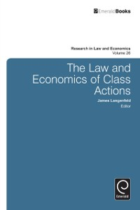 Cover Law and Economics of Class Actions
