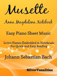 Cover Musette Anna Magdalena Notebook Easy Piano Sheet Music