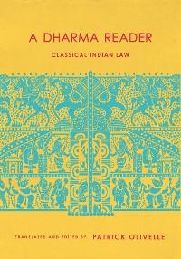 Cover A Dharma Reader
