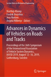 Cover Advances in Dynamics of Vehicles on Roads and Tracks