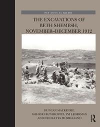 Cover Excavations of Beth Shemesh, November-December 1912