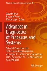 Cover Advances in Diagnostics of Processes and Systems