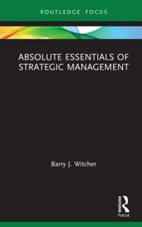 Cover Absolute Essentials of Strategic Management