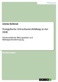 Cover Evangelische Erwachsenenbildung in der DDR