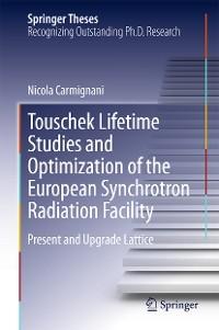 Cover Touschek Lifetime Studies and Optimization of the European Synchrotron Radiation Facility
