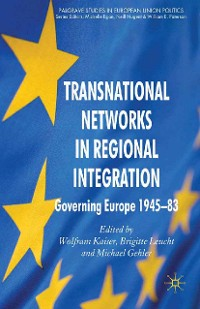 Cover Transnational Networks in Regional Integration
