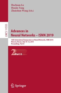Cover Advances in Neural Networks - ISNN 2019