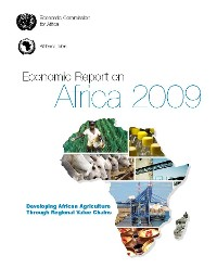 Cover Economic Report on Africa 2009