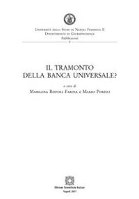 Cover Il tramonto della banca universale?