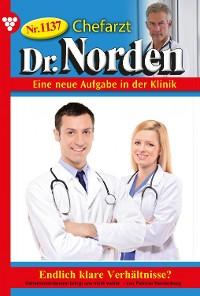 Cover Chefarzt Dr. Norden 1137 – Arztroman