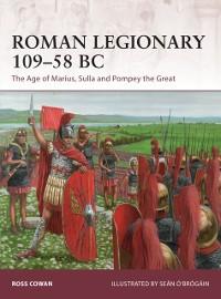 Cover Roman Legionary 109 58 BC