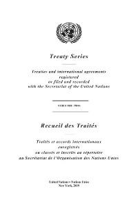 Cover Treaty Series 2955/Recueil des Traités 2955