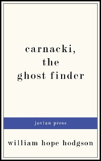 Cover Carnacki, the Ghost Finder