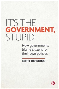 Cover It's the Government, Stupid