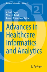 Cover Advances in Healthcare Informatics and Analytics