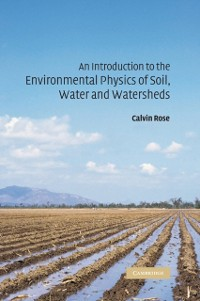 Cover Introduction to the Environmental Physics of Soil, Water and Watersheds