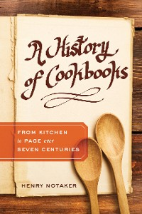 Cover A History of Cookbooks