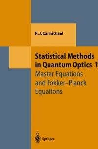 Cover Statistical Methods in Quantum Optics 1