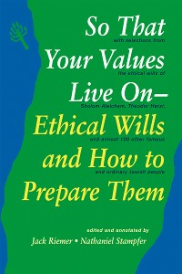 Cover So That Your Values Live On