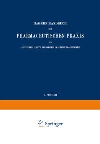 Cover Hagers Handbuch der Pharmaceutischen Praxis fur Apotheker, Arzte, Drogisten und Medicinalbeamte