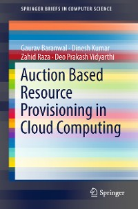 Cover Auction Based Resource Provisioning in Cloud Computing