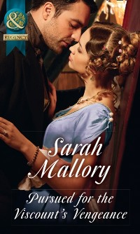 Cover Pursued For The Viscount's Vengeance (Mills & Boon Historical)