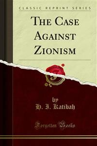 Cover The Case Against Zionism