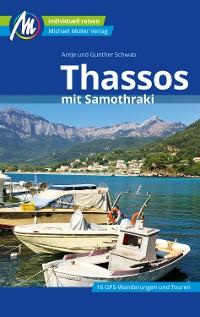 Cover Thassos Reiseführer Michael Müller Verlag