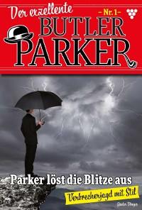 Cover Der exzellente Butler Parker 1 - Kriminalroman